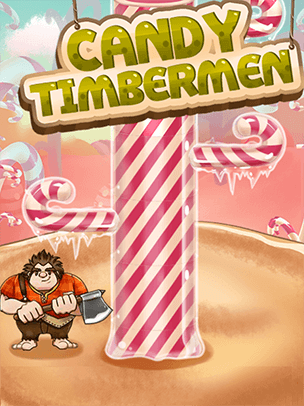 candy timbermen is a fun arcade game for the whole family help the timberman cut down candy cane trees be careful of branches though