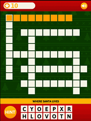 christmas crossword puzzle - Christmas Crossword Answers