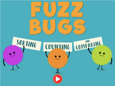fuzz bugs counting sorting comparing game for kids