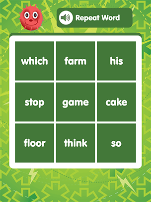 sight word bingo quickly match sounds to words