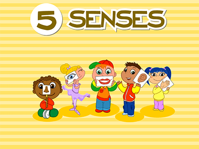 the five senses abcya