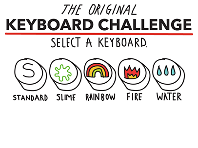 Keyboarding Challenge Learn The Key Placements