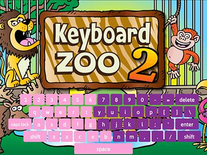Keyboarding Zoo 2 Abcya