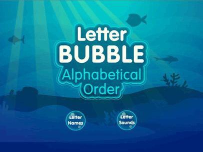 letter bubble alphabetical order is a fun educational game for kids to practice putting the letters of the alphabet in order children can play with letter