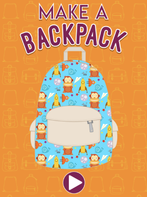 make a backpack abcya