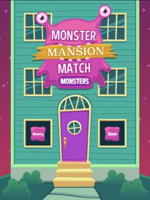 Monster Mansion Match Alphabet logo
