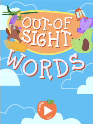 Out Of Sight Words Abcya