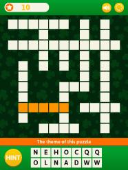 saint patrick s day crossword puzzle abcya