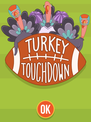 Turkey Touchdown Abcya