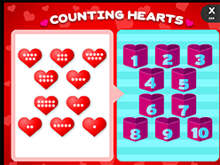 Children S Valentine S Day Counting Abcya