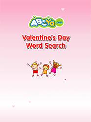 Valentine S Day Word Search For Kids Abcya