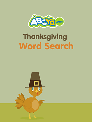 Thanksgiving Word Search | ABCya!
