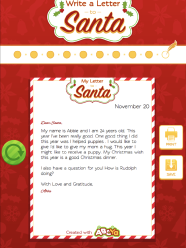 write a letter to santa abcya